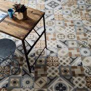 Gres-porcellanato_Ceramica-Fioranese_Cementine_Retrò_Deco-Mix