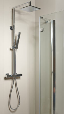 colonna doccia Magnolia con termostatico quadrato